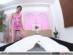 Japanese Girl riding Dildo 01