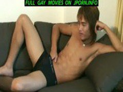 Japanese guy jacks off for your pleasure