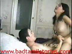 Desi girl is enjoying like a whore will sitting on dick