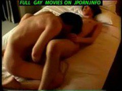 Japanese stud jacking off in his jockstrap