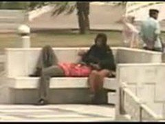 Funny Karachi Couple at Public Park