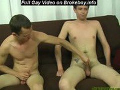 Straight boy rides his friends cock	Gay Sex Video