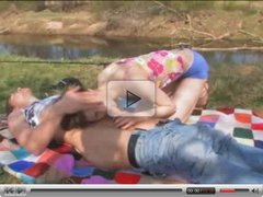 outdoor anal of young couple