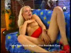 Alake - Blond babe on couch 1