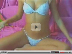 Super hot blonde camgirl