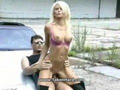 Luxsury car driver fuck Boss Daughter