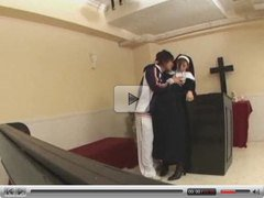 Japanese Nun is Fucked by snahbrandy