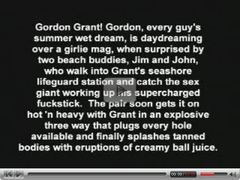 Gay Classic - Gordon Grant - The Lifeguard