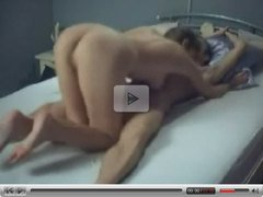 Horny couple homemade sex