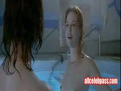 Charlize Theron - Topless In This Pool Scene