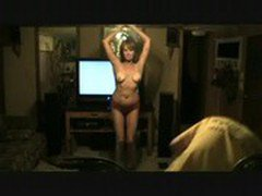 Hot Amatuer Mature MILF Wife Dancing