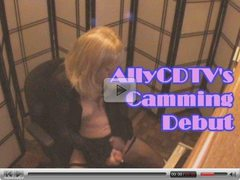 AllyCDTV's Camming Debut