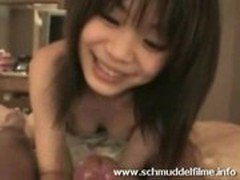 hot awesome asian babe - blowjob and sex in a hotel