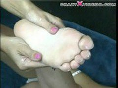 Foot fetish teen fuck