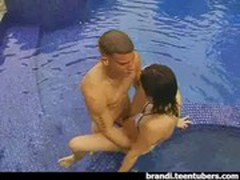 Teen Sex in the Swimming Pool