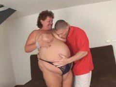 Mature granny huge fat woman hungry sex