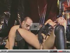 LEATHER AND RUBBER FETISH ORGY