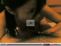 friend of husband's wife giving oral pleasure to his manhood