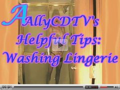AllyCDTV's Helpful Tips: Washing Lingerie