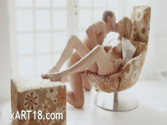 Luxury art sexing on the special chair