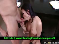 Eva Angelina brunette blowjobs and fucking