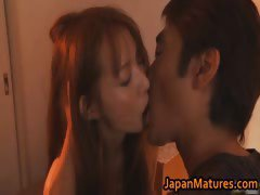 Hottie Manami Suzuki loves anal sex part1
