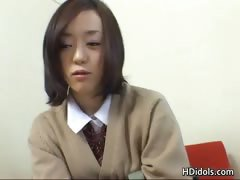 Cute asian schoolgirl upskirt video part4