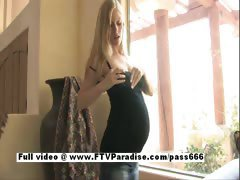 Leah ingenious busty pregnant milking