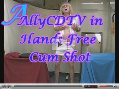 AllyCDTV in Hands-Free Cum Shot