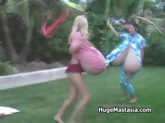 Two horny girls with massive part3