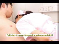 Nao Yoshizaki Sexy Chinese girl enjoys on a bus ride