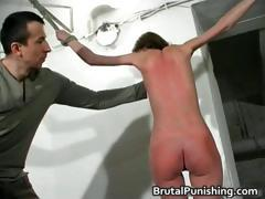 Hardcore bdsm and brutal punishement part5