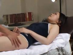 Teenage asian getting full body massaged