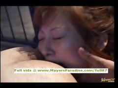 Chihiro Hara innocent naughty asian girl is fucked hard from behind