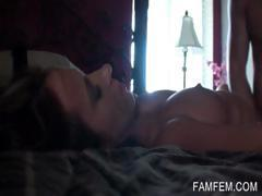 Pussy fucking in POV with tattoed hoe