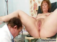 Dirty doctor fucking his mature patient part5