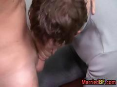 Straight and married dude gets his first part1