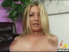 Hot girl gets cock in her tight pussy