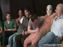 Super hot gay cock sausage party part6