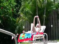 Cute teenie blonde had a horny sex under the sun