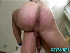 Sucking dick and fucking ass