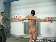 Hard core fetish and brutal punishement part4