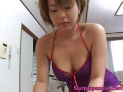 Cock hungry asian sluts sucking fucking part1