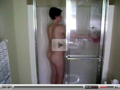 Amateur Wife In the Shower
