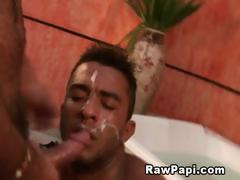 Hairy gays hot bath sex