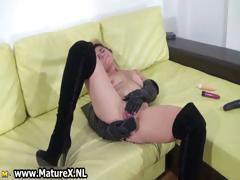 Dirty blonde amateur housewife gets part4