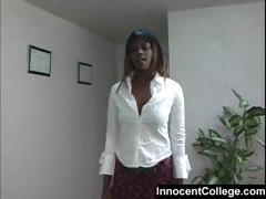 Black school girl fucked in the office
