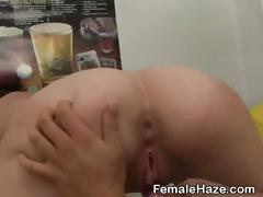 College Girls Finger And Lick Pussy At Hazing Party