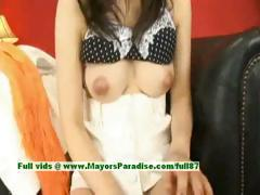 Sayuri Ito innocent naughty asian girl is getting her tight pussy poked