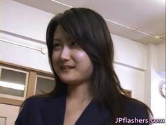 Sweet Japanese teen is sexy and hot part1